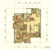 七彩云南第壹城4室2厅2卫173--178平方米户型图