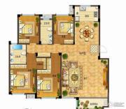 依云小镇4室2厅2卫185平方米户型图