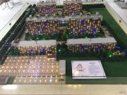 北京院子沙盘图