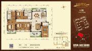 湛江君临世纪5室2厅3卫201平方米户型图