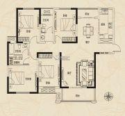 建业新城4室2厅2卫0平方米户型图