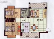 星悦蓝湾2室1厅1卫88平方米户型图