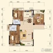 香樟里3室2厅2卫124平方米户型图