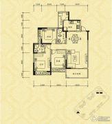 长江国际社区巴塞罗那庄园2室2厅1卫76平方米户型图