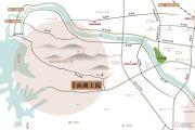 建业・南湖上院交通图