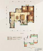 瑞松・中心城3室0厅1卫0平方米户型图