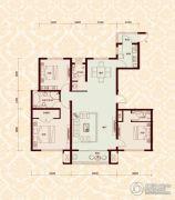 怡水公馆3室2厅3卫159平方米户型图