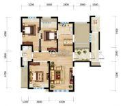 三江・尊园3室2厅1卫134平方米户型图