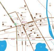 赞成星谷交通图