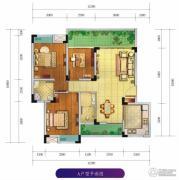 香颂湾Ⅱ期左岸香颂3室2厅2卫98--110平方米户型图