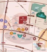 万科&新城  时代之光交通图