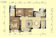 北京城建龙樾熙城3室2厅2卫95平方米户型图