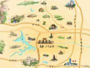 中国・恋乡・太行水镇民宿交通图
