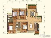 金地・城南艺境4室2厅2卫0平方米户型图