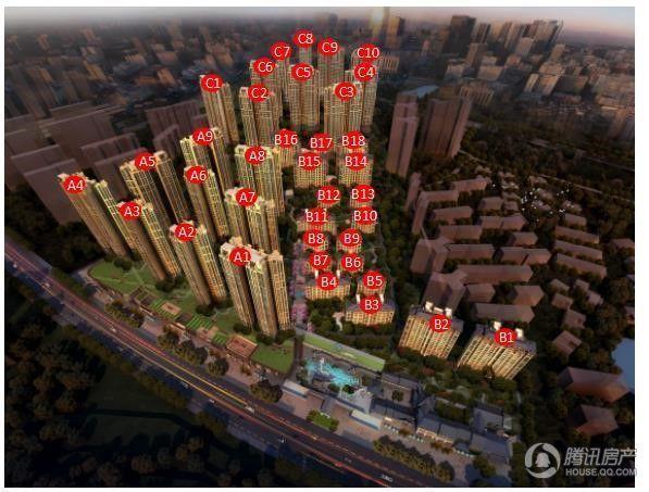 深惠颐景园营销中心已开放 首批推出建面95/115㎡户型