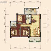 传化广场3室2厅2卫0平方米户型图