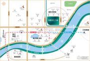 龙湖・春江天越交通图