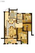 金地家园・公寓3室2厅1卫89平方米户型图
