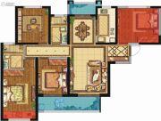 荣民宫园学府4室2厅2卫128平方米户型图