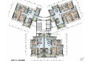 保利国际广场89--174平方米户型图