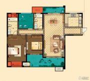 星河国际3室2厅2卫143平方米户型图