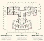 中建・江湾壹号4室2厅2卫120--141平方米户型图