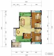 香颂湾Ⅱ期左岸香颂3室2厅2卫106--120平方米户型图