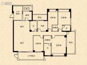 御海阳光5室2厅3卫240平方米户型图
