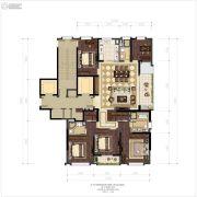 滨江保利・翡翠海岸5室2厅3卫0平方米户型图