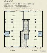 空港国际1室1厅1卫124--139平方米户型图