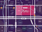 天府国际凤凰城交通图