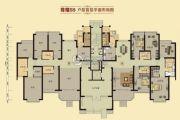 恒大华府5室2厅3卫249平方米户型图