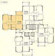 恒怡湾3室2厅2卫0平方米户型图