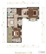 新盛大滩六号院5室2厅5卫0平方米户型图