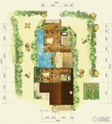 鲁能海蓝福源2室2厅1卫0平方米户型图