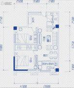 鑫天偶寓2室2厅1卫0平方米户型图