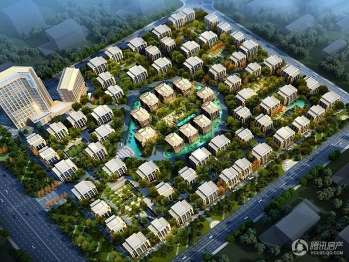 栋3.8万平米高档酒店以及6.5万平米的半地下生态停车场组成,倾力打