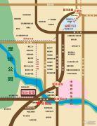 御景湿地交通图
