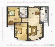 新华联运河湾2室2厅1卫84平方米户型图