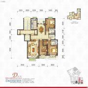 丽汤・首山梦之湾3室2厅2卫162平方米户型图