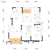 曲江・紫金城3室2厅2卫140平方米户型图