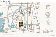 新城璞樾门第交通图