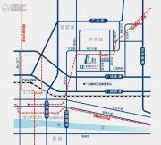广州绿地中央广场交通图