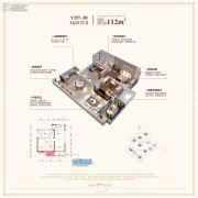 碧桂园・玖玺台3室2厅2卫112平方米户型图