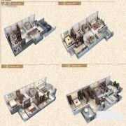 金辉城江城著4室2厅3卫315平方米户型图