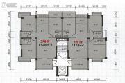 海悦名庭3室2厅3卫128平方米户型图