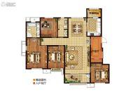 三盛・国际公园4室2厅2卫150平方米户型图