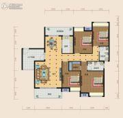 南方梅园4室2厅2卫182--187平方米户型图