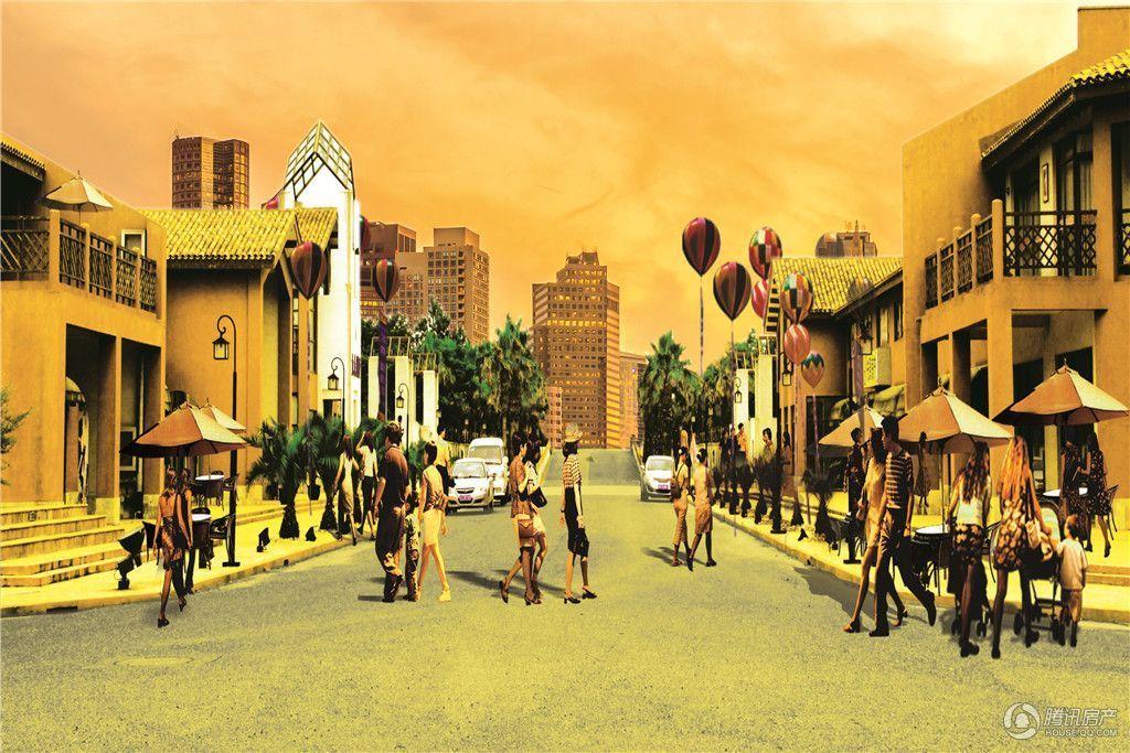 上海名流国际商业街 效果图