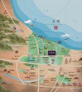 港达・太湖天地交通图
